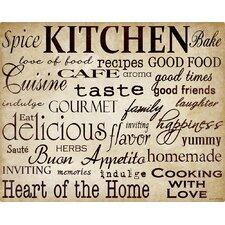 Simple Speak Kitchen Cutting Board
