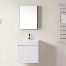 "Zuri 22"" Single Bathroom Vanity Set with Mirror"