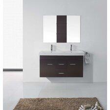 "Opal 47"" Double Bathroom Vanity Set with Mirror"