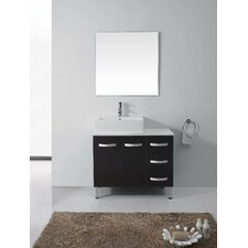 "Tilda 39"" Single Bathroom Vanity Set with Mirror"