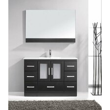"47"" Single Bathroom Vanity Set with Mirror"