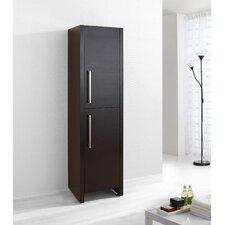 "Delano 62.2"" x 15.7"" Freestanding Linen Cabinet"