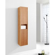 "Delmore 55.1"" x 11.8"" Wall Mounted Linen Tower"
