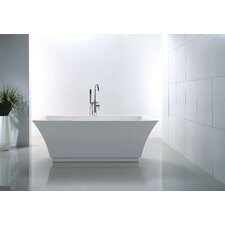 "Serenity 67"" x 31.3"" Soaking Bathtub"