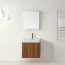 "Midori 23"" Single Bathroom Vanity Set with Mirror"