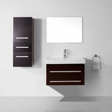 "Ultra Modern Series 29"" Single Bathroom Vanity Set with Mirror"