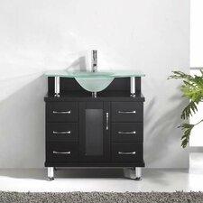 """Vincente 32"""" Single Bathroom Vanity Set"""