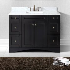 "Elise 48"" Single Bathroom Vanity Set with Mirror"