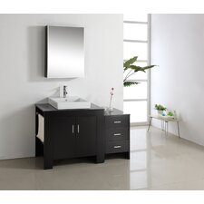 """Tavian 53.9"""" Single Bathroom Vanity Set"""