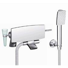 De Soto Deck Mount Tub and Shower Faucet Trim