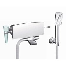 De Soto Wall Mount Tub Only Faucet with Hand Shower