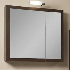 "Luna 30.9"" x 27.7"" Surface Mounted Medicine Cabinet"