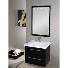 "Fly 29"" Single Wall Mounted Bathroom Vanity Set with Mirror"