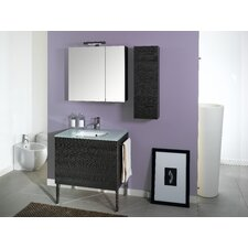 "Time 32"" Single Wall Mounted Bathroom Vanity Set with Mirror"