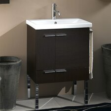 """Simple 24"""" Single Bathroom Vanity Set"""