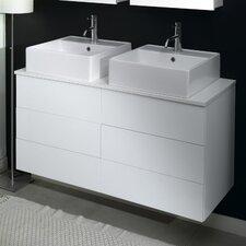 "Time 18"" Double Bathroom Vanity Set"