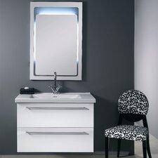 "Fly 37"" Single Wall Mounted Bathroom Vanity Set with Mirror"