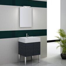 "Smile 24"" Single Wall Mount Bathroom Vanity Set"