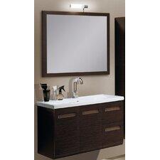 "Integral 39"" Single Wall Mounted Bathroom Vanity Set with Mirror"