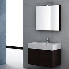 "Smile 32"" Single Wall Mount Bathroom Vanity Set"