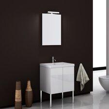 "Space 23"" Single Bathroom Vanity Set with Mirror"