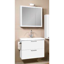 """Luna 30"""" Single Bathroom Vanity Set with Mirror"""