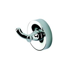Luna Wall Mounted Double Robe Hook