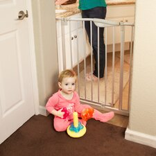 Tall Metal Auto Close Safety Gate with 3 Extension