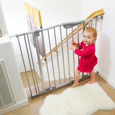 Tall Metal Auto Close Safety Gate with 2 Extension