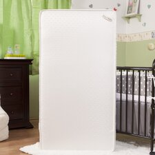 "Natural I 5.75"" Crib Mattress with Jacquard Cover & Organic Cotton Layer"