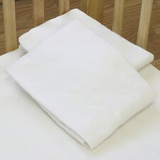 Cotton Compact Flat Crib Sheet