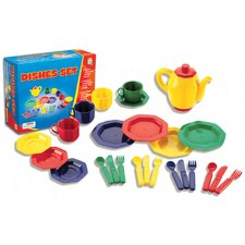 25 Piece Dish Play Set