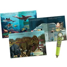 Hot Dots Jr. Ultimate Science Facts Interactive Book Set with Talking Pen