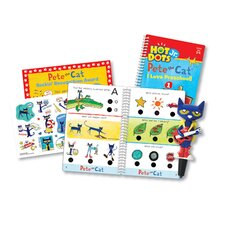 Hot Dots Jr Pete Cat I Love Preschool Set