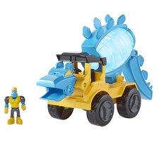 "Dino Contruction Company ""Helix"" Stegosaurus Cement Mixer"