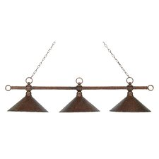 Designer Classics 3 Light Billiard Light