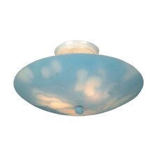 KidShine 3 Light Outdoor Semi-Flush Mount