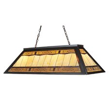 Tiffany Game Room 4 Light Billiard Light
