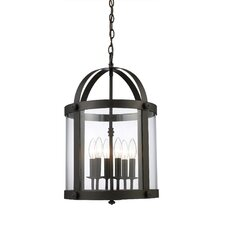 Chesapeake 6 Light Outdoor Pendant