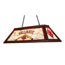 Tiffany Game Room 3 Light Billiard Light