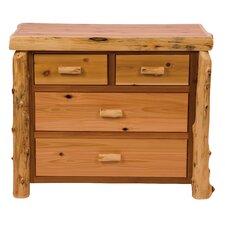 Premium Cedar 4 Drawer Dresser