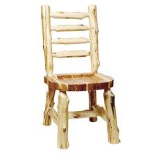 Traditional Cedar Log Side Chair