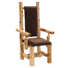 Traditional Cedar Log Arm Chair
