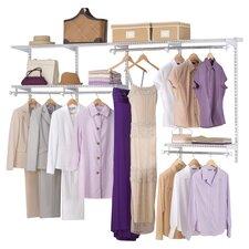 "Configurations 96"" Wide Closet System"