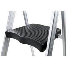 3 Step Aluminum Ultra-Light Step Stool with 225 lb. Load Capacity