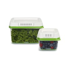 FreshWorks 2 Piece Produce Saver Set (Set of 2)