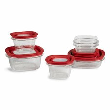 12 Piece Food Storage Container Set (Set of 2)