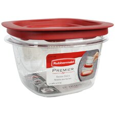 16 Oz. Premier Square Food Storage Container