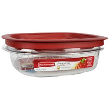 24 Oz. Premier Square Food Storage Container