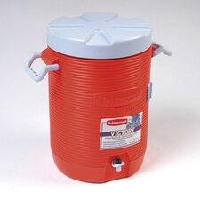 """16"""" Dia. Insulated Beverage Container in Orange"""